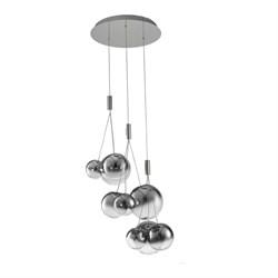 Подвесная светодиодная люстра Kink Light Баллоис 07559-9A,02