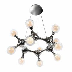 Подвесная светодиодная люстра iLedex Blossom C4465-12R CR