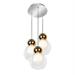 Подвесная светодиодная люстра iLedex Blossom C4476-3R GL