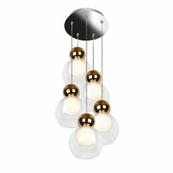 Подвесная светодиодная люстра iLedex Blossom C4476-5R GL
