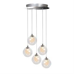 Подвесная светодиодная люстра iLedex Epical C4492-5R CR