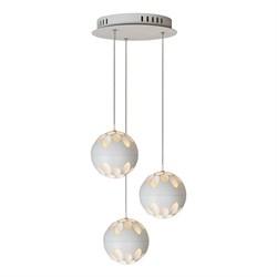 Подвесная светодиодная люстра iLedex Mob P1009-3 WH