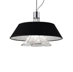 Подвесная люстра Lumina Deco Alvarress LDP 9175-3 BK