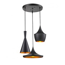 Подвесная люстра Lumina Deco Foggi LDP 7712-3 BK