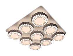 Потолочная светодиодная люстра Ambrella light Orbital High-Tech FH14/9 WH 288W D750*750