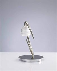 Настольная лампа Mantra Loop Satin Nickel 1817