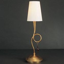 Настольная лампа Mantra Paola Painted Gold 3545
