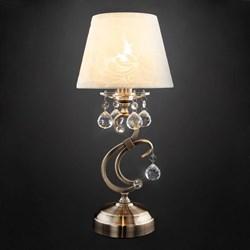 Настольная лампа Eurosvet 1448/1T античная бронза Strotskis
