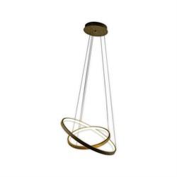 Подвесной светодиодный светильник Kink Light Тор-Трек 08660,14