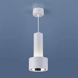 Подвесной светодиодный светильник Elektrostandard DLR033 9W 4200K 3300 белый/хром 4690389130137