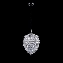 Подвесной светильник Crystal Lux Charme SP2 Chrome/Transparent