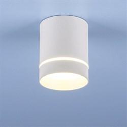 Потолочный светодиодный светильник Elektrostandard DLR021 9W 4200K белый матовый 4690389102981