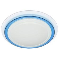Потолочный светодиодный светильник ЭРА SPB-6-24-3К Classic синий кант Б0029617