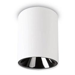 Потолочный светодиодный светильник Ideal Lux Nitro 10W Round Bianco