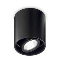 Потолочный светильник Ideal Lux Mood PL1 D09 Round Nero