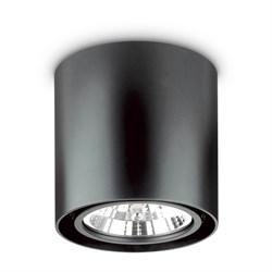 Потолочный светильник Ideal Lux Mood PL1 D15 Round Nero