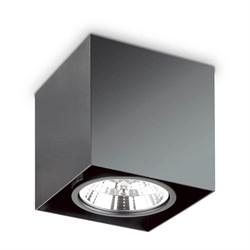 Потолочный светильник Ideal Lux Mood PL1 D15 Square Nero