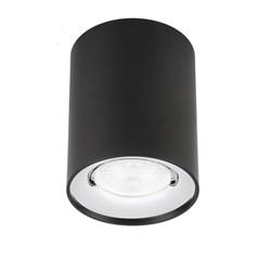 Потолочный светильник ЭРА OL1 GU10 BK/CH Б0041502