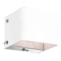 Настенный светильник Ideal Lux Flash AP1 Bianco