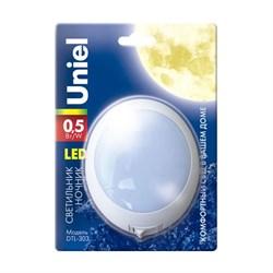 Настенный светодиодный светильник Uniel DTL-303-Круг/White/3Led/0,5W 02742