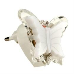 Настенный светодиодный светильник Uniel Детская серия DTL-308-Бабочка/RGB/3LED/0,5W 10318
