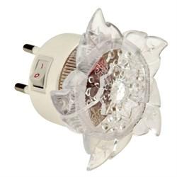 Настенный светодиодный светильник Uniel Детская серия DTL-308-Цветок/RGB/4LED/0,5W 10320