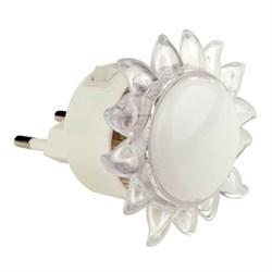 Настенный светодиодный светильник Uniel Детская серия DTL-308-Подсолнух/RGB/4LED/0,5W 10322