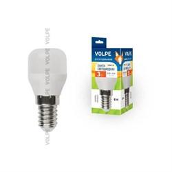 Лампа светодиодная E14 3W 3000K матовая LED-Y27-3W/WW/E14/FR/Z UL-00000178