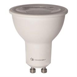 Лампа светодиодная Наносвет GU10 8W 2700K прозрачная LH-MR16-8/GU10/927/38D L286
