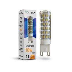 Лампа светодиодная Voltega G9 10W 2800К прозрачная VG9-K1G9warm10W 7038