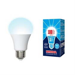 Лампа светодиодная E27 11W 4000K матовая LED-A60-11W/NW/E27/FR/NR UL-00003786
