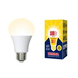 Лампа светодиодная E27 11W 3000K матовая LED-A60-11W/WW/E27/FR/NR UL-00003787