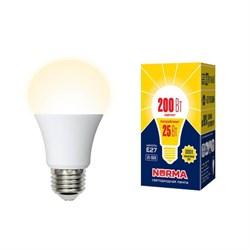 Лампа светодиодная E27 25W 3000K матовая LED-A70-25W/3000K/E27/FR/NR UL-00004469