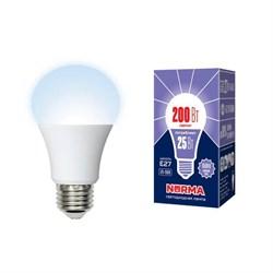 Лампа светодиодная E27 25W 6500K матовая LED-A70-25W/6500K/E27/FR/NR UL-00004471