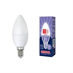 Лампа светодиодная E14 7W 6500K матовая LED-C37-7W/DW/E14/FR/NR UL-00003794
