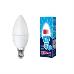 Лампа светодиодная E14 7W 4000K матовая LED-C37-7W/NW/E14/FR/NR UL-00003795