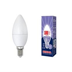 Лампа светодиодная E14 11W 6500K матовая LED-C37-11W/DW/E14/FR/NR UL-00003810