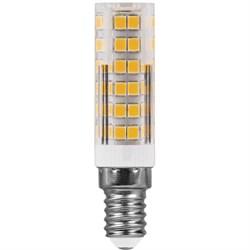 Лампа светодиодная Feron E14 7W 2700K прозрачная LB-433 25898