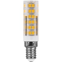 Лампа светодиодная Feron E14 7W 6400K прозрачная LB-433 25986
