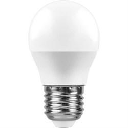 Лампа светодиодная Feron E27 11W 2700K Шар Матовая LB-750 25949