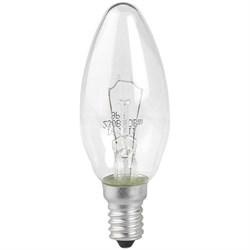 Лампа накаливания ЭРА E14 40W 2700K прозрачная ДС 40-230-E14-CL Б0039127