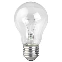 Лампа накаливания ЭРА E27 75W 2700K прозрачная A50 75-230-E27 (гофра) Б0039119