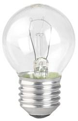 Лампа накаливания ЭРА E27 40W прозрачная ДШ 40-230-E27-CL Б0039137