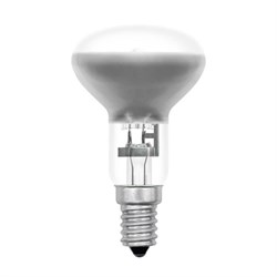 Лампа галогенная рефлекторная Uniel E14 42W прозрачная HCL-42/CL/E14 Reflector 05222