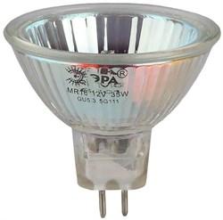 Лампа галогенная ЭРА GU5.3 35W 3000K прозрачная GU5.3-MR16-35W-12V-CL C0027355