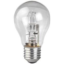 Лампа галогенная ЭРА E27 70W прозрачная HAL-A55-70W-230V-E27-CL C0038548
