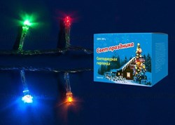 Светодиодная гирлянда Uniel Кубики 220V разноцветный ULD-S0280-020/DTA Multi IP20 07916