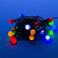 Светодиодная гирлянда Uniel разноцветные шарики 220V разноцветный ULD-S0280-020/DGA Multi IP20 Colorballs 11093