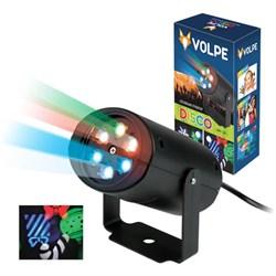 Светодиодный светильник-проектор ULI-Q306 4W/RGB BLACK XMAS UL-00001188