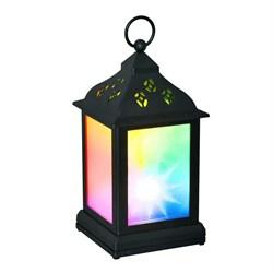 Переносной светодиодный фонарь Uniel 110х220 ULD-L1122-010/DTB/RGB/3D Black UL-00002311